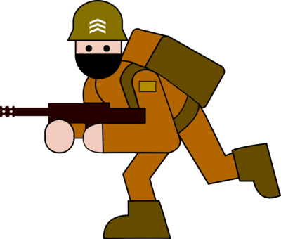 Ww1 Soldier Drawing  Free download on ClipArtMag