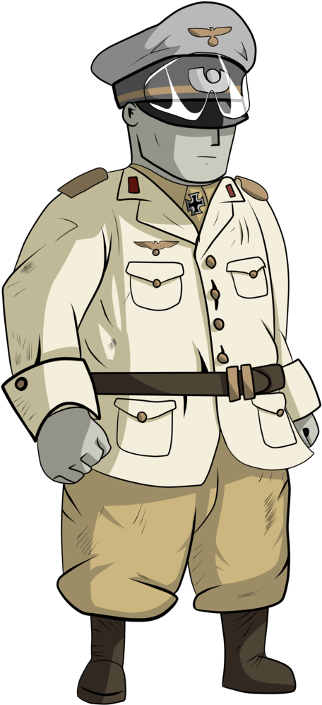 Soldiers Clipart Army General  Erwin Rommel Art  Png