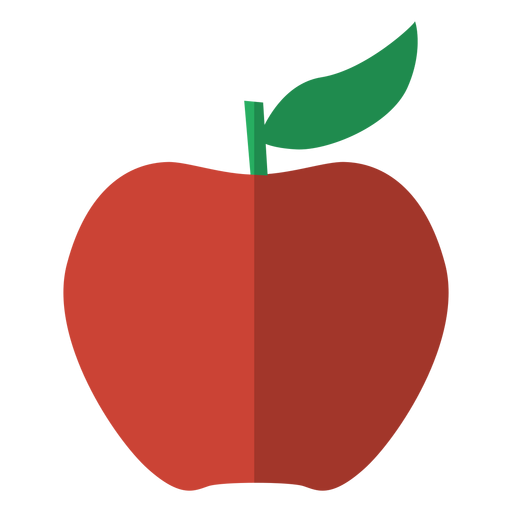 Red apple icon fruit  Transparent PNG  SVG vector file