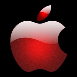 De cristal de estilo logotipo de Apple icono png Descarga