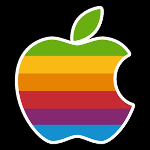 Apple Color Logo Sticker  Sticker Mania