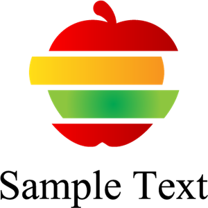 Colorful Apple Logo Vector AI Free Download