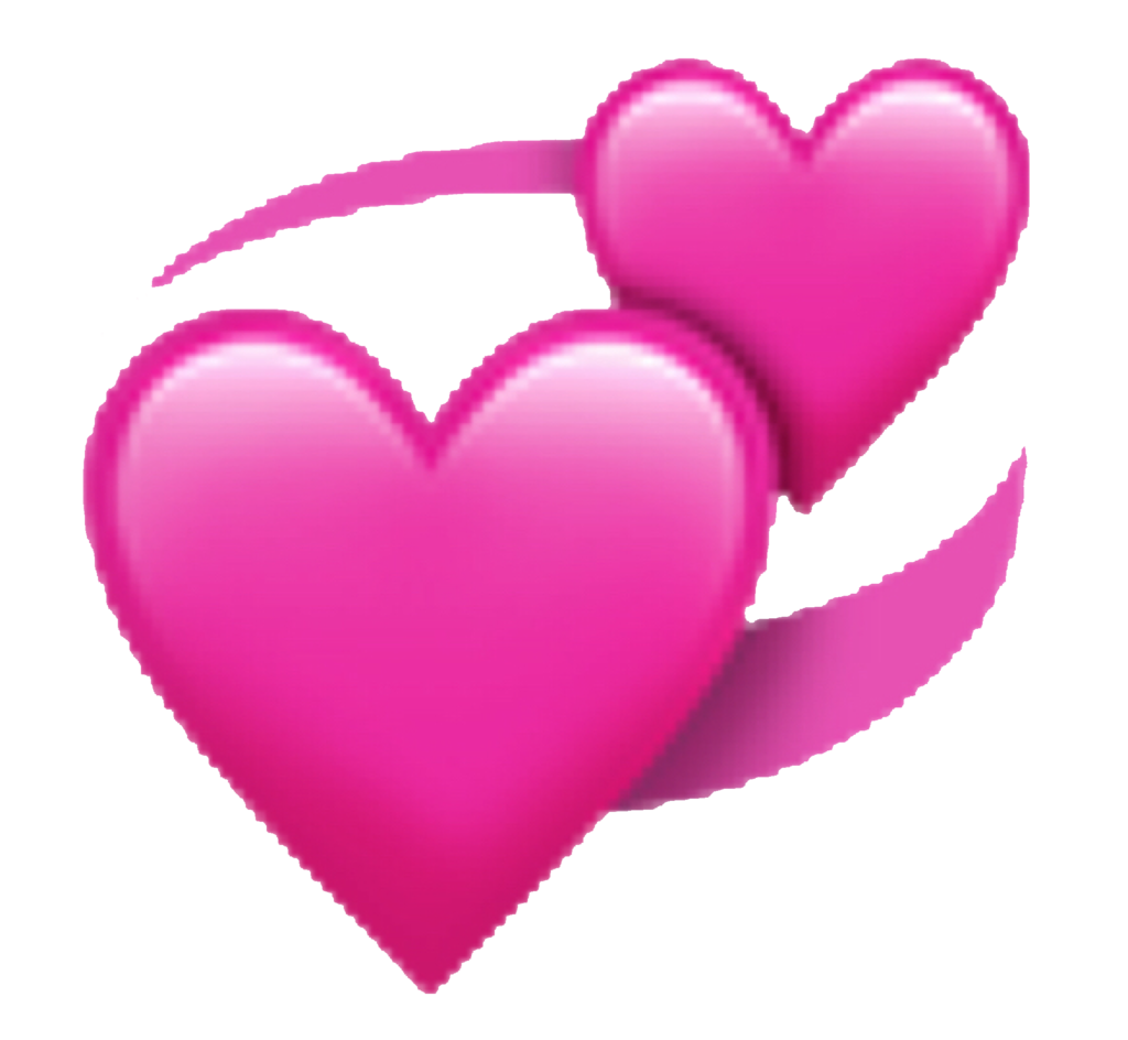 heart hearts emoji emojis emojisticker emojiheart pink