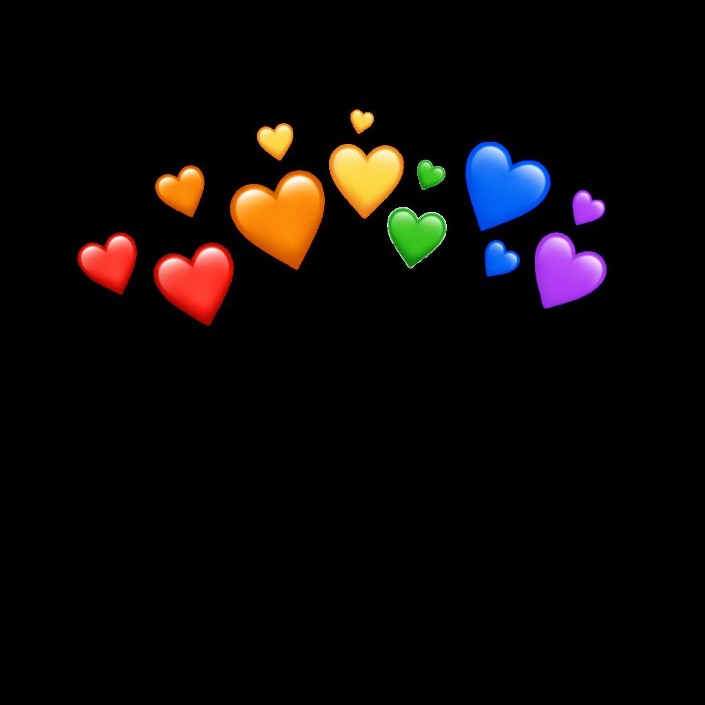 freetoedit hearts overlays background emoji patterns
