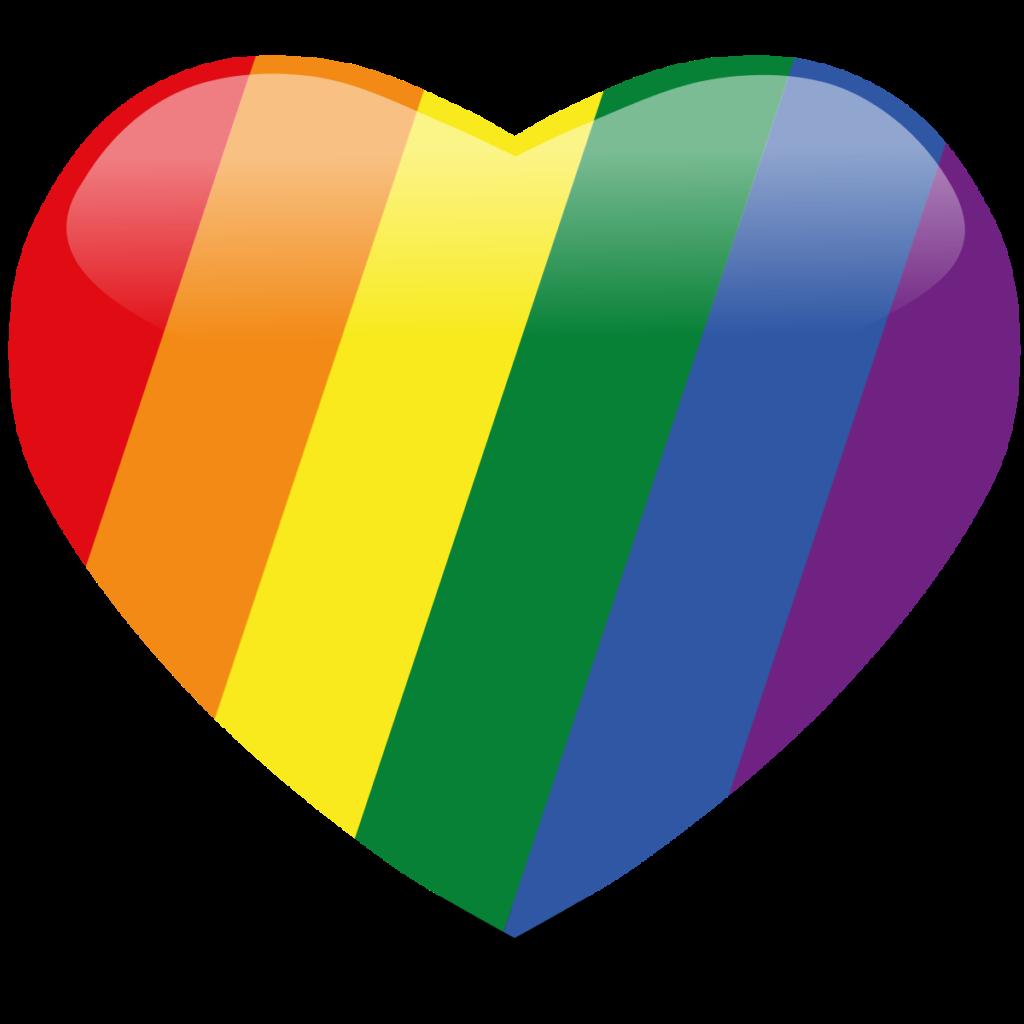 Rainbow heart  Rainbow wallpaper Colorful heart Rainbow