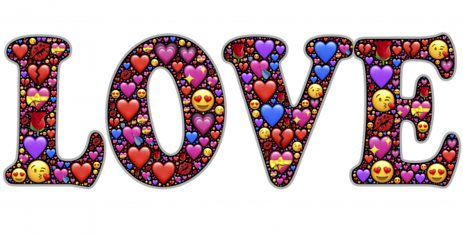 The Different Colored Emoji Hearts All Have Different