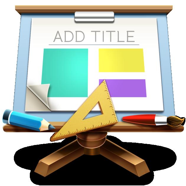 人気Macアプリ iTemplate  Keynote Edition  Israa Dorgham