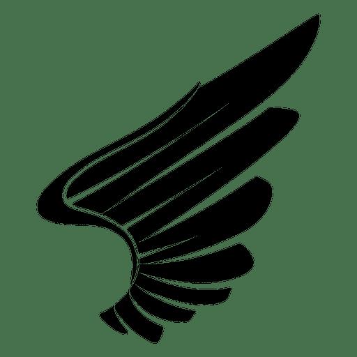 Ala de águila silueta 04  Descargar PNGSVG transparente