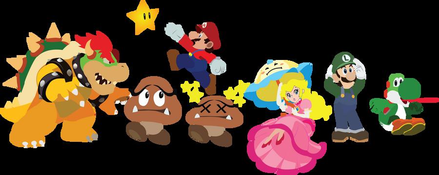 Mario Google Logo by Lordvaati3531 on DeviantArt