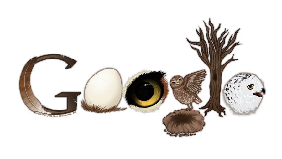 Google Logo  Owls by SuperSpace on DeviantArt