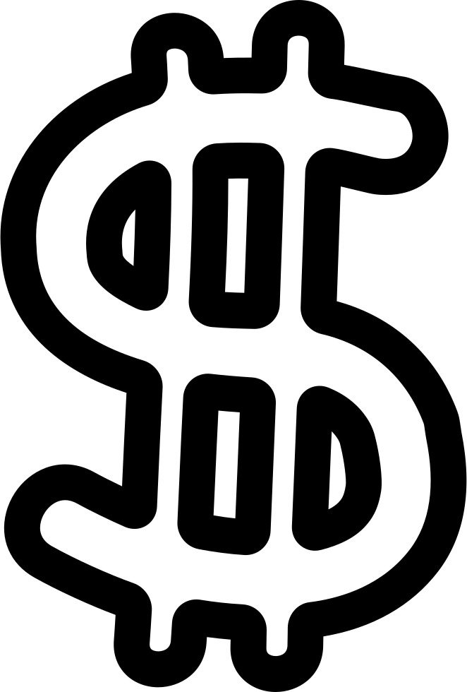 Money Symbol Hand Drawn Outline Svg Png Icon Free Download