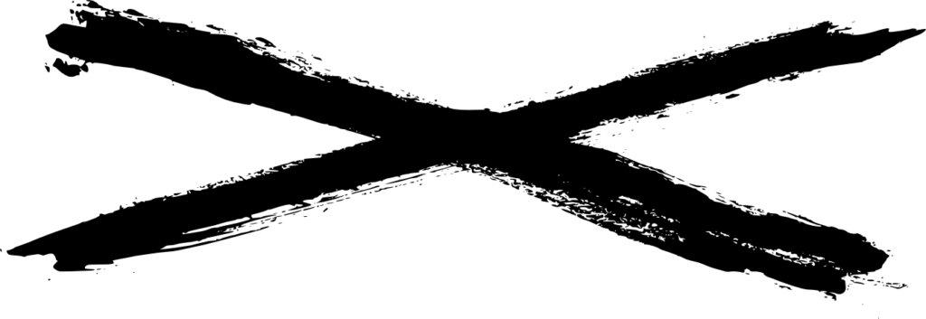 8 Grunge X PNG Transparent  OnlyGFXcom