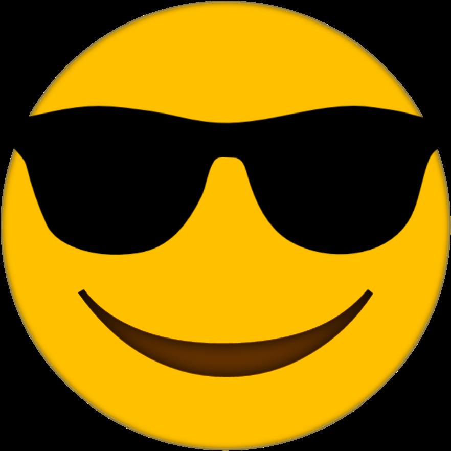 Download Sunglasses Emoji Transparent Image HQ PNG Image