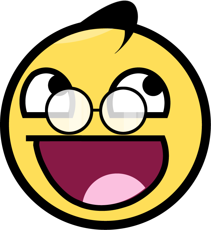 Awesome Face Smiley  ClipArt Best