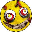 Msn İfadeleri,Msn Smiley,Msn Göz Kırpmaları,Winks ... - Crazy Animated Smiley Face