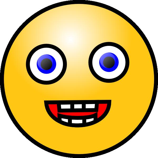 Crazy Emoticon Face  Clipartsco