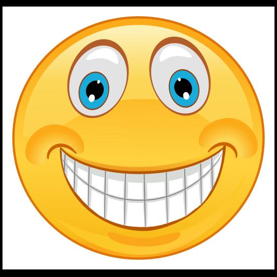 Crazy High Smile Emoji Sticker
