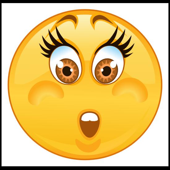 Crazy Worried Emoji Sticker