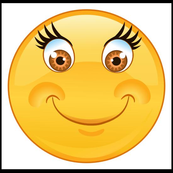 Crazy Soft Smile Emoji Sticker