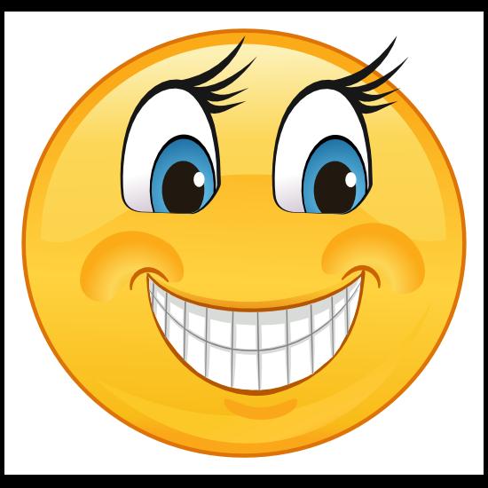 Crazy Smiling Emoji Sticker
