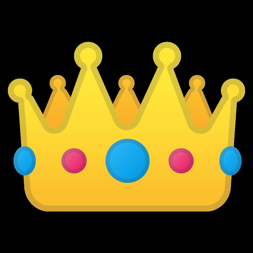 Crown Icon  Noto Emoji Clothing  Objects Iconset  Google