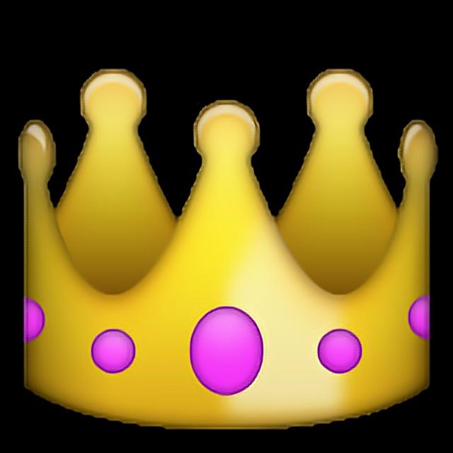 Crown 왕관 왕 king emoji 이모지  Sticker by 잰잰