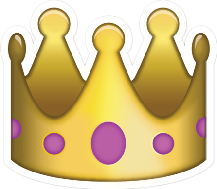 crown king queen emoji cute fab