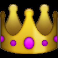 emoji Princess Crown | My Custom Bottle Opener - Crown Emoji