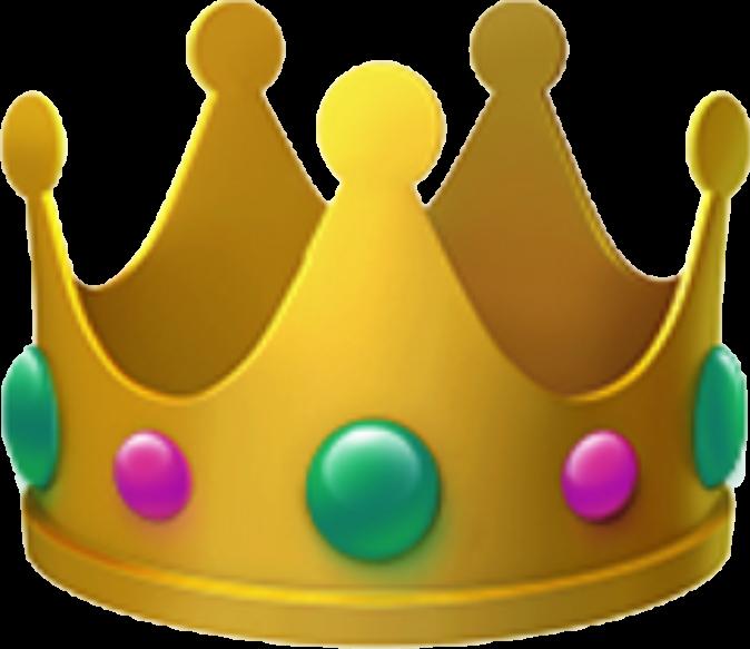 emoji crown  Sticker by Natalia