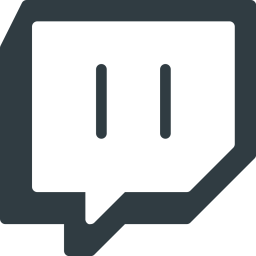 Twitch Logo Icon of Glyph style  Available in SVG PNG