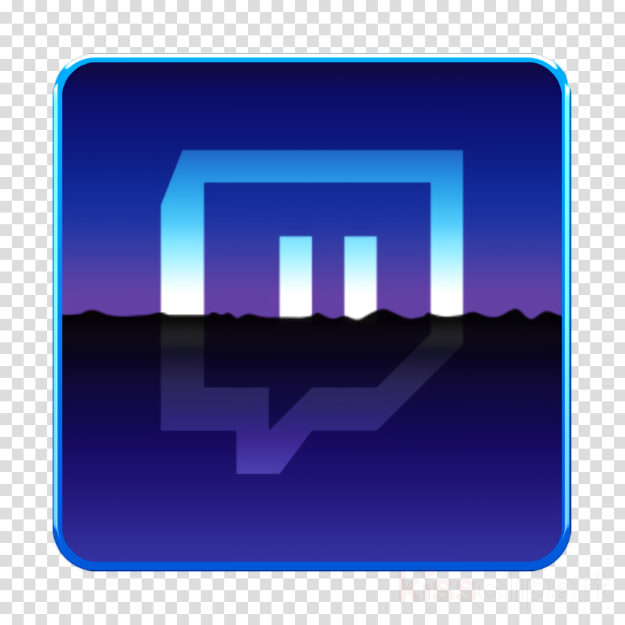 9994 Twitch Icon  bemockup