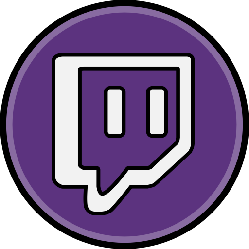 Media social twitch icon