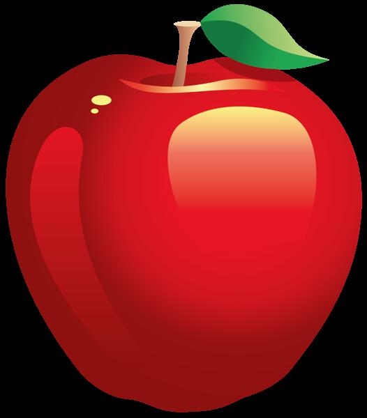 Large Painted Red Apple PNG Clipart  Ilustrações de
