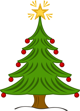 christmas tree in stand pot clipart vector png 20 free