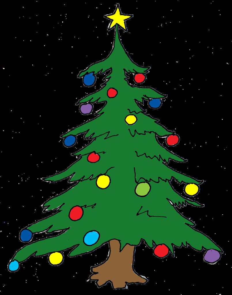 Best Christmas Tree Clip Art 11434  Clipartioncom
