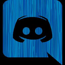 Sketchy blue discord icon  Free sketchy blue site logo