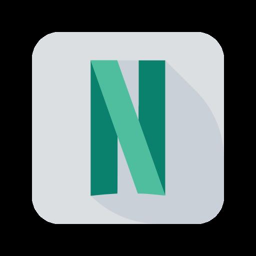 Icône Netflix logo Gratuit de Social Media