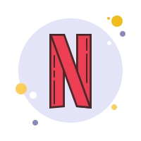 Netflix Icons  Free Download PNG and SVG