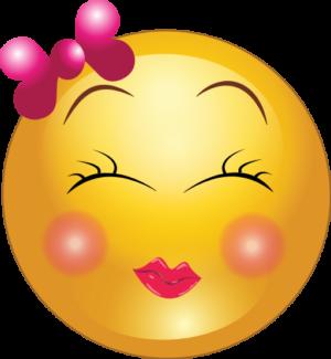 Cute Girl Smiley Faces | Cute Shy Girl Smiley Emoticon ... - Cute Smiley Face Clip Art