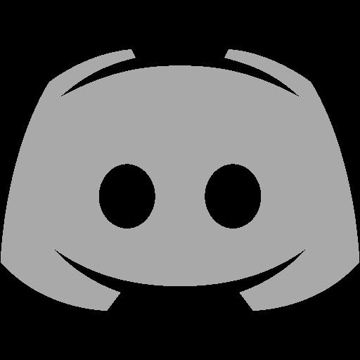 Dark gray discord 2 icon  Free dark gray site logo icons