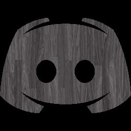Black wood discord 2 icon  Free black wood site logo