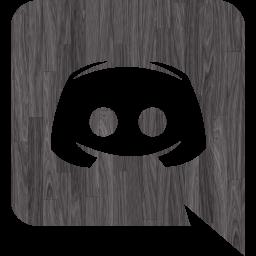 Black wood discord icon  Free black wood site logo icons