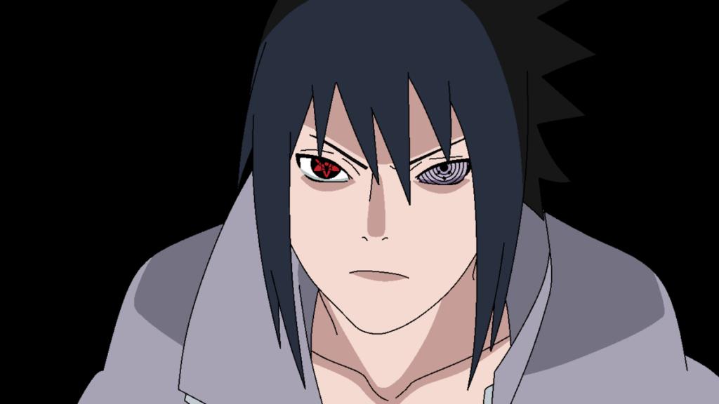 Sasuke Uchiha Mata Sharingan Dan Rinnegan