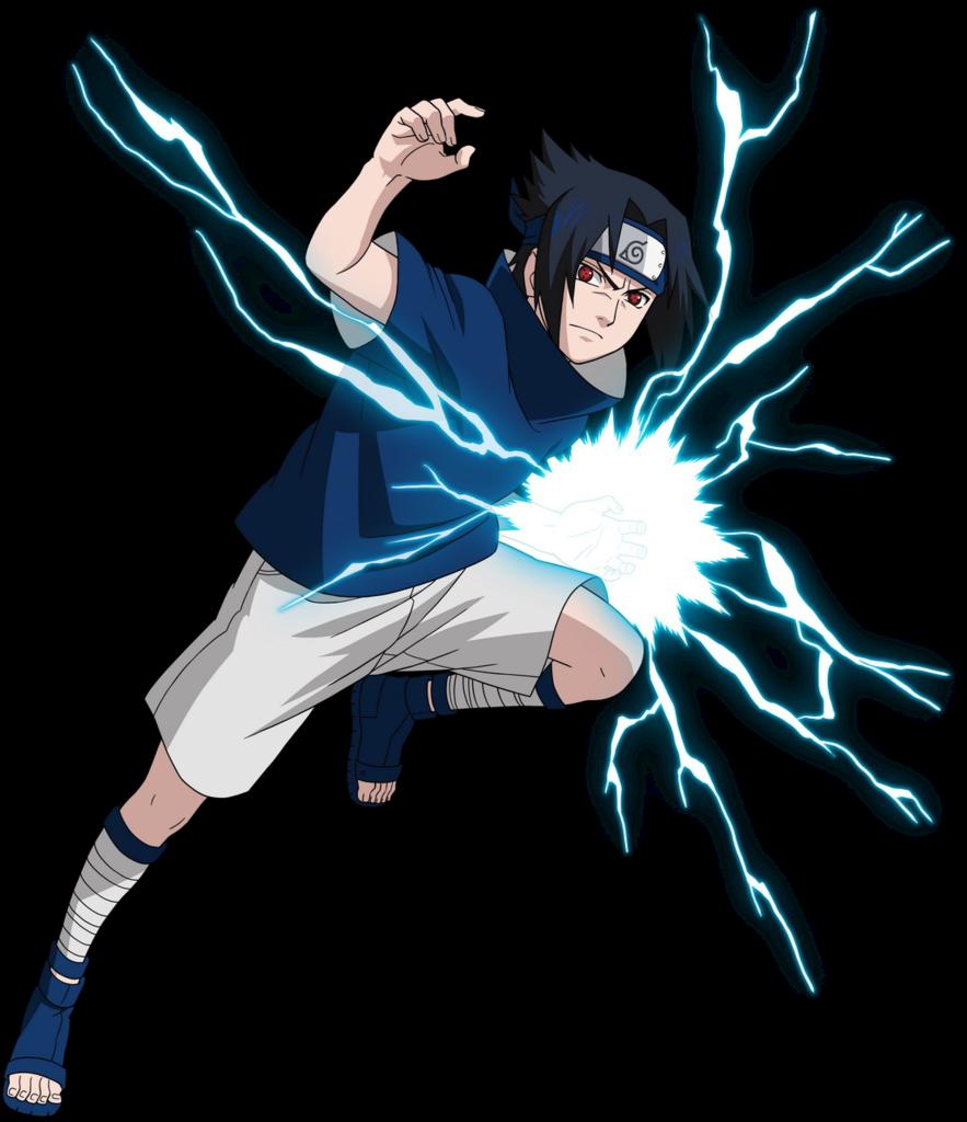 Sasuke Uchiha doing chidori  Anime naruto Naruto desenho