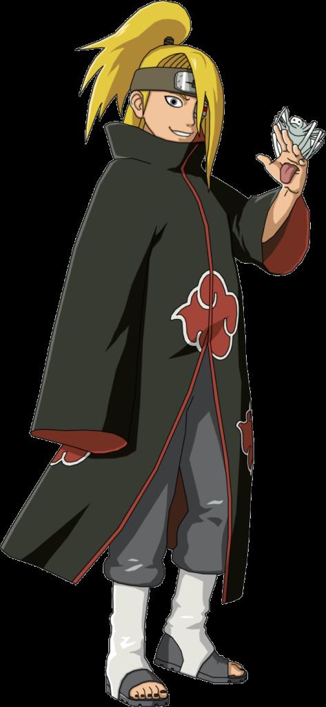 Image  Deidara  Akatsukipng  Narutopedia  FANDOM