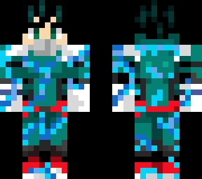 Deku 100  Minecraft Skin