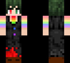 pride villain deku  Minecraft Skin