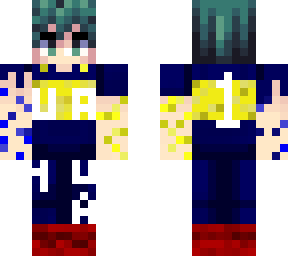 Deku Bostero 20  Minecraft Skin