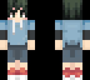 Deku Casual Clothes  Minecraft Skin