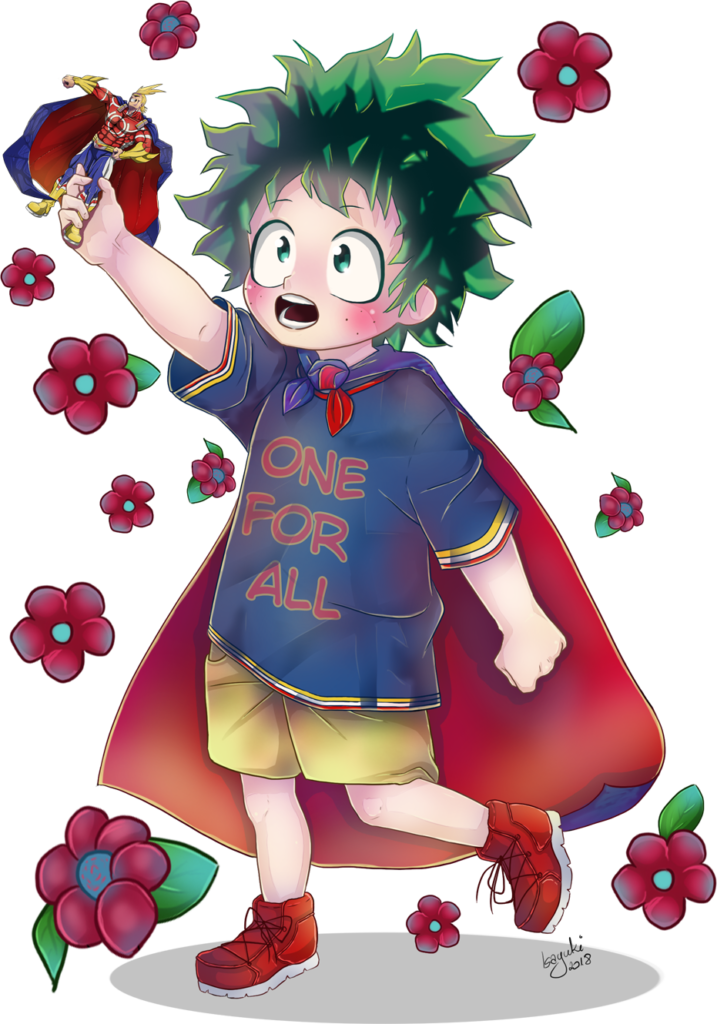 Deku FanArt from My Hero Academia by IsaYuki on Newgrounds